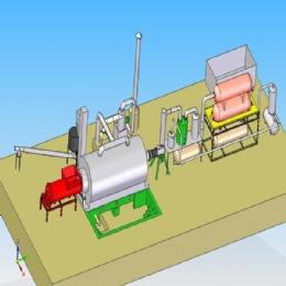 Waste Tyre/Plastic Pyrolysis Plant,Products